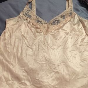 Vintage Maidenform Lace Trimmed Camisole